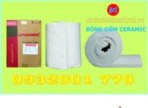 Bông sợi gốm cách nhiệt chống cháy - Ceramic Fiber