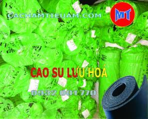 Cao su Lưu hoá cách âm chống rung dạng cuộn dày 10mm - Cao su xốp