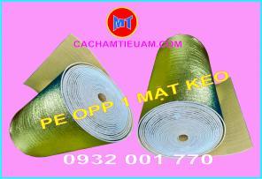 Mút xốp cách nhiệt PE OPP có phủ keo