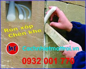 PE foam Rod đường kính 10 mm - Ron mút xốp chèn khe phi 10mm